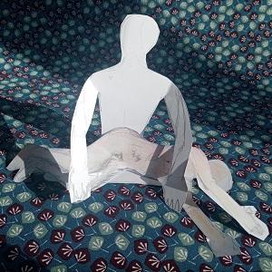 B6.3 - Illustration massage cachemirien côté par © Bruno Deck - massage tantrique Paris