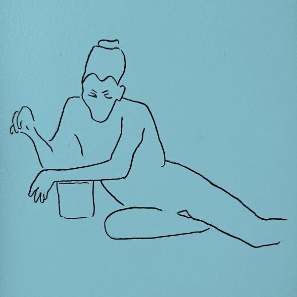 A7 - Dessin page Témoignage, par Bruno Deck, masseur tantrique à domicile
