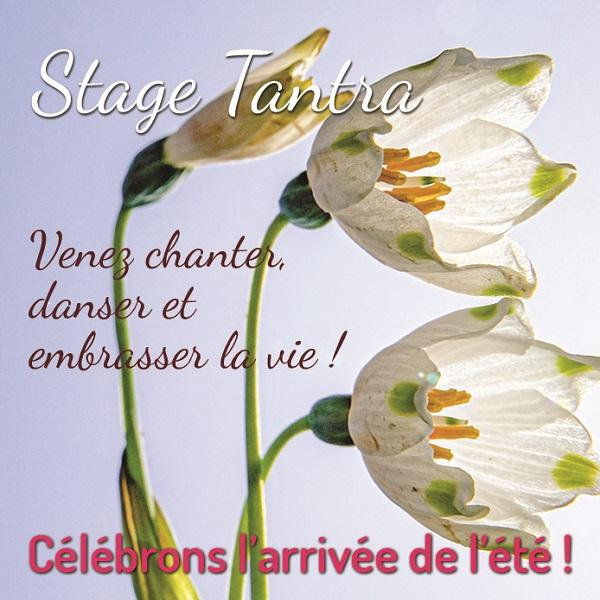 S3 - Stage Tantra Massage Danse et Volupté, avec Bruno Deck (masseur tantrique, Matanoma) et Hélène Toulet.